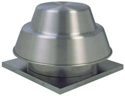 Roof Exhaust Fans - Fantech 5DDD085A Roof Fan, Downblast, Direct Drive Centrifugal, 1/25 hp, 115V, 1 Ph, ODP, 8