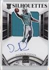 Devante Parker #290/299 Devante Parker (Football Card) 2015 Panini Crown Royale - [Base] - Rookie Silhouette Signatures [Autographed] #210 (Parker Autographed Card)