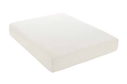 Signature Sleep Inspire 10 Inch Memory Foam Mattress, with Certipur-us Certified Foam, Queen Size