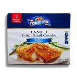 Progresso Panko Crispy Bread Crumbs - 4 packages of 8 Oz. (32 Oz. Total) (Crumbs Panko Progresso Bread)