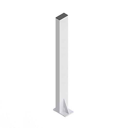 HealthCraft PT-WRM-PCW P.T. Rail Floor Mast White