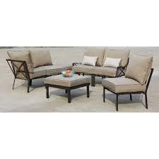 7 Piece Outdoor Sofa Sectional