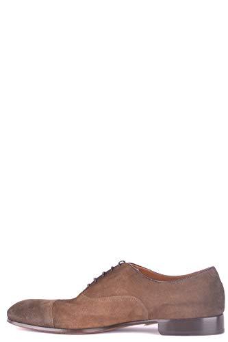 5bf1d0327 Hombre Mcbi102031o Gamuza Marrón Zapatos Cordones Doucal s De wzq6Pw
