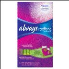 Always Radiant Wipes-to-go, 46 CT (Pack of 6)