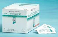 Henry Schein Inc 300335100002 Bacitracin Zinc Ointment Foil  9Gm 144 Bx  Pack Of 144