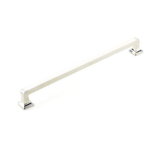 - Schaub Menlo Park Collection 15 in. (381mm) Appliance Pull, Polished Nickel - 535-PN