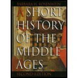 A Short History of the Middle Ages : Transparencies, Rosenwein, Barbara H., 1551117398