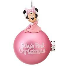 Disney First Christmas Minnie Mouse Ornament Baby by Disney
