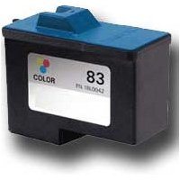 83 Printer Inkjet Cartridge - Bulk 18L0042, #83 Lexmark Compatible Inkjet Cartridge, Multi Color: R18L0042 (4 Inkjet Cartridges)