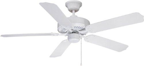 Litex WOD52WW5P Cove Harbor Ceiling Fan with Five ABS Fan Blades, 52