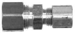 Midland 18-081 Brass Compression Reducing Union 1//2 x 3//8 Size