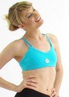 Brassière fitness et running Princesse Turquoise - Margarita