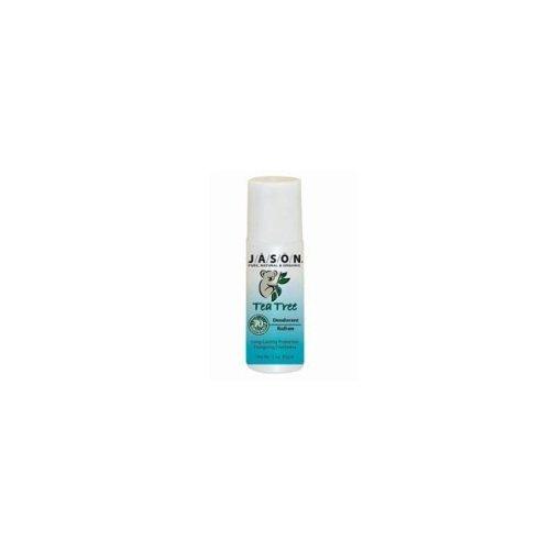 Tea Tree Deodorant Roll On (85g) 10 Pack Bulk Savings by Jasons Natural