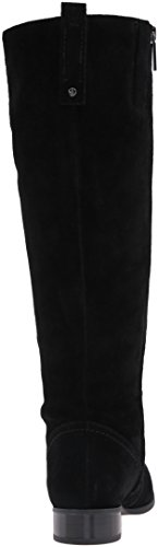 Women's Suede West Boot High Nine Knee Black Nicolah tw7Z5ZFq