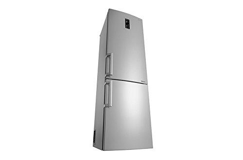 Frigor/ífico LG GBB60NSFZB Independiente 343L A++ Acero inoxidable nevera y congelador , SN-T, 9 kg//24h, A++, Acero inoxidable nevera 343 L, Antiescarcha
