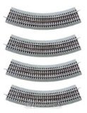 Toys : Lionel FasTrack O36 Curve Track 4-Pack