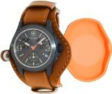 Swiss Army Victorinox Original LE Leather Chronograph Mens Watch - Chronograph Synthetic Sapphire