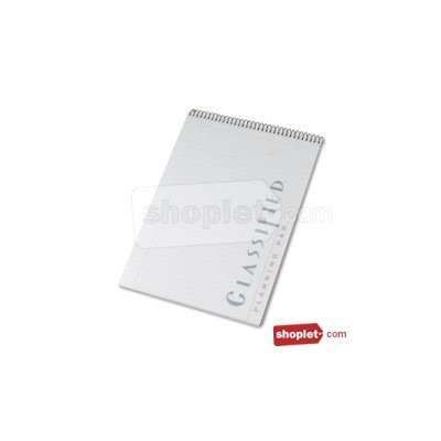 TOP99710 - Tops Classified Colors Notebook w/White Cover