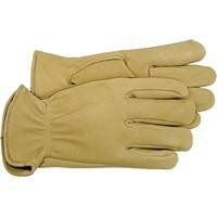 - Boss Gloves 4085M Medium Unlined Premium Grain Deerskin Driver Gloves