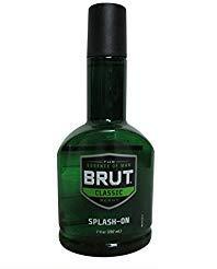(BRUT Splash-On Classic Scent 7 oz (Pack of 4))