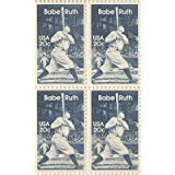 (Babe Ruth Set of 4 x 20 Cent US Postage Stamps NEW Scot 2046)