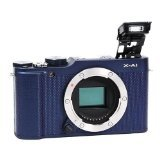 Fujifilm X-A1 Body - Blue Compact System Camera, Body Only