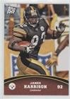 James Harrison (Football Card) 2011 Topps Rising Rookies - [Base] #94