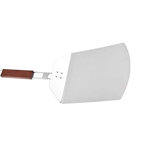 Fengyuanhong Pizza Spade Lifter roestvrij staal pizzapalet Paddle Foldable Handle Bakers Peel Houten