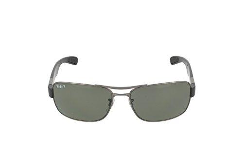 64 Ban Gunmetal 0Rb3522 Gafas de Hombre Sol Ray para 8qgd08w