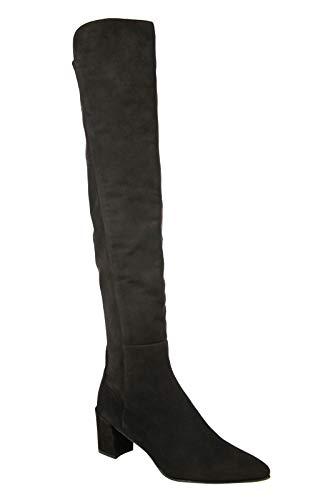 Stuart Weitzman Women's Allwayhunk Dark Brown Cola Suede Over-The-Knee Boot (8.5 US)