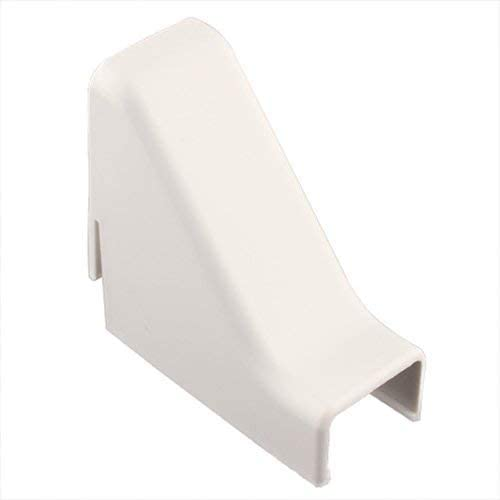 White Pack of 5 Cable Raceway Outside Corners .87in
