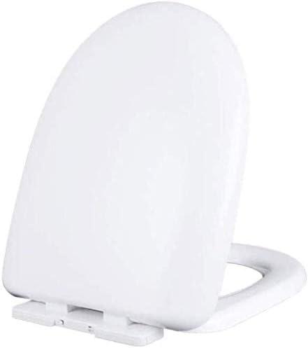 CXMWYトイレのふた 便座Uは、抗菌肥厚トイレのふたをスローダウンサイレントをスローダウン* 34センチメートルホワイト、43をユニバーサル便座形状