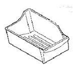 Frigidaire 240385201 Ice Bucket Unit