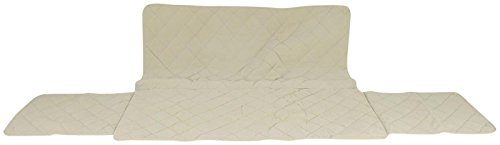 CPC Diamond Quilted Couch Protector, 72-Inch, Linen by Cpc