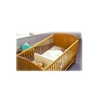 White Safababy Sleeper Feet to Foot Position Cot Divider BNIB White by Safababy