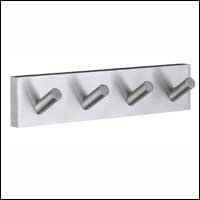 Smedbo SME RS359 Towel Hook Quadruple, Brushed Chrome ()