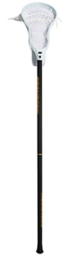 Lacrosse Sticks, GRANDCOW ELITE 500 Porfessional Attack 30'' Goalie 40'' Defender 60'' Complete Sticks with Shaft & Head (Black, Goalie 40'')