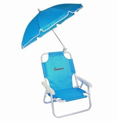 Personalized Children's Beach Chair - Color: Blue