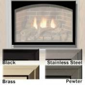 Empire Comfort Systems ECS VBY32GBL Arch Firebox Door Frame - Matte Black