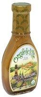 Organicville Organic Vinaigrette Olive Oil and Balsamic -- 8 fl oz - 2 pc