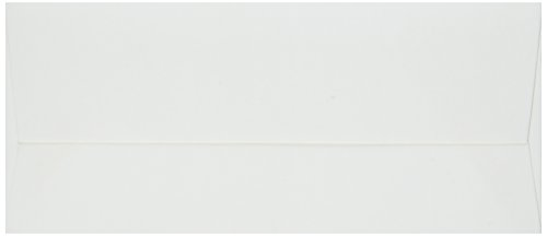 QUICKUTZ We R Memory Keepers Letterpress Envelopes, No.10-Size, 25-Pack, Cream