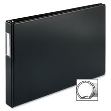Reference Binder, 11''x17'', 3'', Black, Sold as 1 Each