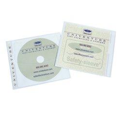 Jewelpak CD/DVD Sleeve, 5.625'' x 5.00'' - Case of 1,000