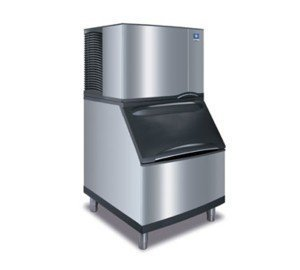 Manitowoc ID-0302A_B-400 310 Lb Air-Cooled Full Cube Ice Machine w/ Storage (310 Lb Ice Machine)