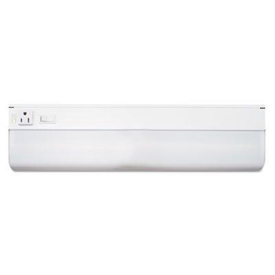 LUXO Corp L9011 Under-Cabinet Fluorescent Fixture, Steel, 18-3/4 x 4, White