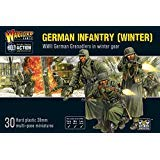 Bolt Action Winter German Grenadiers Infantry 1:56 WWII Military Wargamimg Plastic Model Kit
