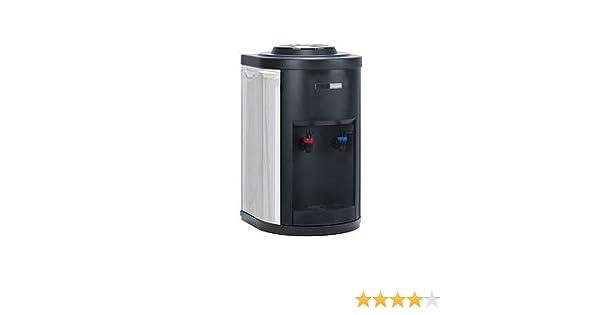 Fuente de agua conexión red con filtración Inox sobremesa (F350+C+F): Amazon.es: Hogar