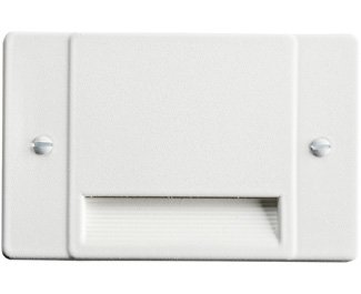 Kichler 12663WH Step and Hall 120V LED Step Light Non-Dimmable, White