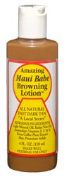 Maui Babe - Browning Lotion - 4 oz, 15 pack (buy 12 get 3 free)