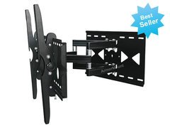 LG 55LW9800 LED 3D HDTV for Full Motion Articulating Dual Arm Tilting TV Wall Mount Bracket **TOP